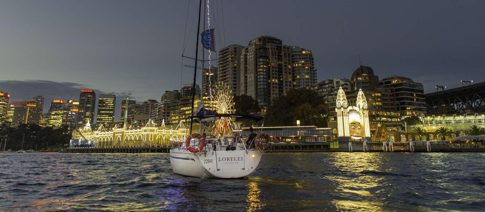 Romantic Overnight Stay on Sydney Harbour