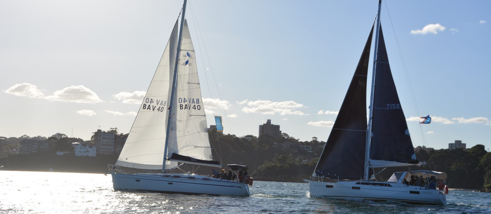 Chase Race Team Building Regatta on Sydney Harbour
